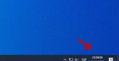 Cómo mostrar los segundos en el reloj de Windows 10